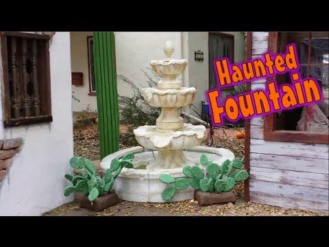 Spooky Foam Water Fountain - Halloween Prop - Part 1