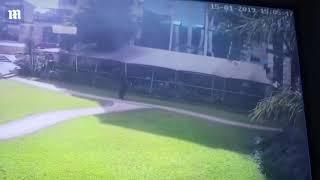 CCTV shows moment Kenyan attacker blows himself up