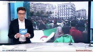 Le 64' - EDITION SPÉCIALE - Algérie : renoncement d'Abdelaziz Bouteflika à un 5e mandat