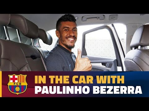 Paulinho's chat in the car on his way to the Camp Nou!