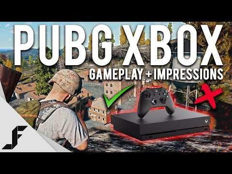 PUBG XBOX ONE X GAMEPLAY + First Impressions