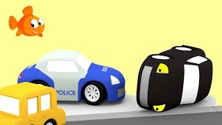 CAR CHASE #2- Cartoon Cars Compilation - Cartoons for kids - Videos for kids - Kids Cartoons