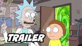 Rick And Morty Season 4 Teaser Trailer   Evil Morty Scene And Interview Breakdown