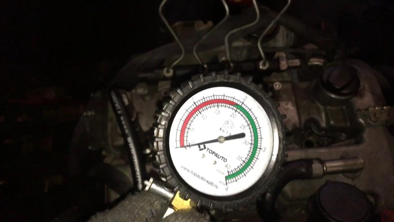 Двигатель D20DT 21297 2.0 141 л.с. SsangYong – проверка компрессии