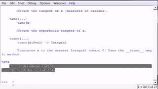 Python教程 Python Programming Tutorial   40  Getting Module Info