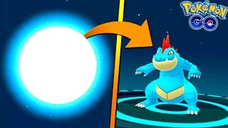 FINALLY EVOLVING TO FERALIGATR IN POKEMON GO! Generation 2 Feraligatr Evolution! + WE IN BOSTON!