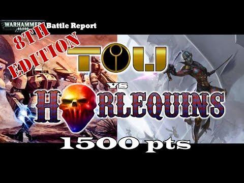 8th Edition Harlequins Vs Tau Game 1 Battle Report