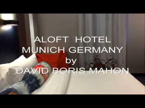 INSIDE ALOFT HOTEL IN MUNICH GERMANY  - TRAVEL HOTEL EUROPE