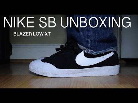premium selection 0a8b1 284df Nike SB Unboxing: Blazer Zoom Low XT *NOT CLICKBAIT*
