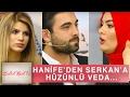 Zuhal Topal'la 128. Bölüm (HD) | Hanife'den Gözyaşları İçinde Serkan'a Veda...