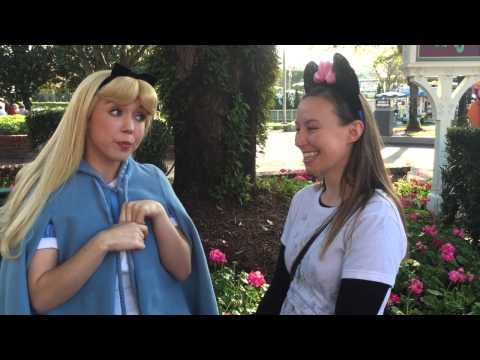 Disney World Characters Meet and Greet! Big kids having fun!