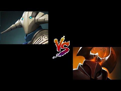 Chaos Knight vs Sven Carry Battle Dota2 Duel 1vs1