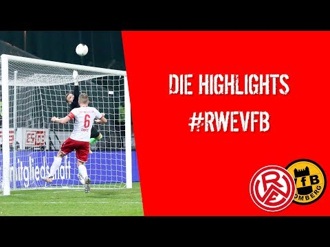 21. Spieltag: RWE - VfB Homberg (Saison 2019/2020)