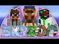 Minecraft 1.14 Skyblock - Welcome to SkyZoo! - Episode 1