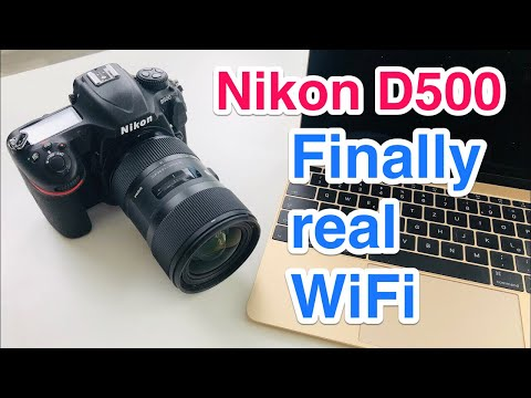 Connect Nikon D500 Directly To PC Or Smartphone Via WiFi