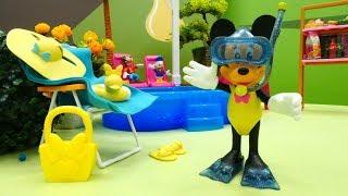 Видео для детей - Минни Маус на отдыхе - Minnie Mouse