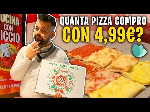 Quanta Pizza Posso Comprare con 4,99 Euro??? NON CI CREDERETE!