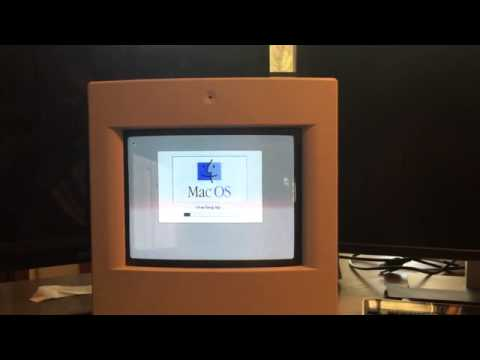 Apple Mac Color Classic Booting & Connecting To The Internet