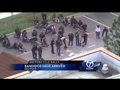Motorcycle rally: Bandidos have arrived