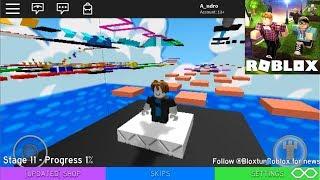 ROBLOX - Mega fun Obby - Gameplay Walkthrough (iOS, Android)