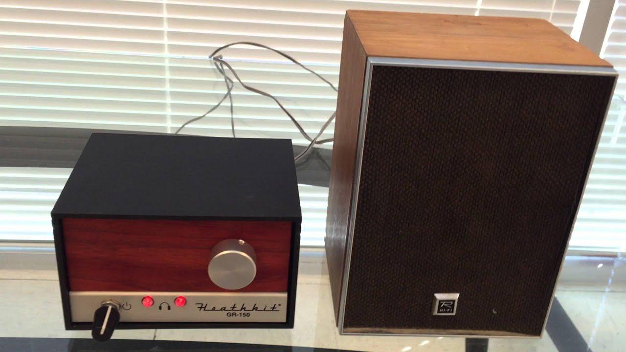 Time to build a radio - HeathKit - Explorer AM: TRF AM radio receiver