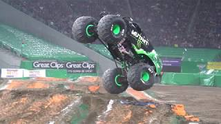Monster Jam Minneapolis Highlights 2017