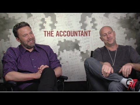 The Accountant Behind The Scenes Interviews with Ben Affleck & JK Simmons
