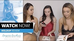 Alicia, Sophia Smith and Lauren Louise : Miss O fishnet open crotch pantyhose and holdups [PREVIEW]