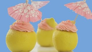 Lemon Raspberry Cupcakes, DIY Summer Decor & Candy Vases | Summer Sweet Styling | Elise Strachan