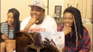 Avengers: Infinity War Official Trailer REACTION + THOUGHTS!!!