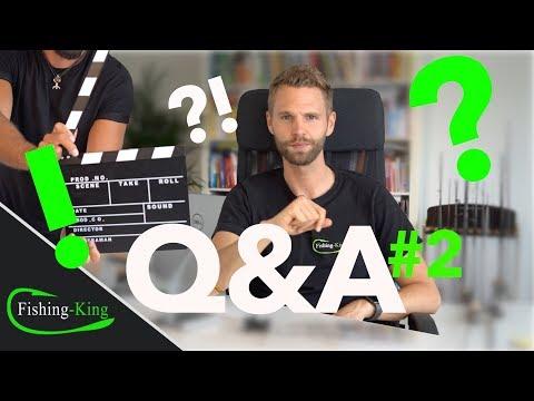 DEINE FRAGEN, unsere ANTWORTEN- Q&A #2 | Fishing-King.de
