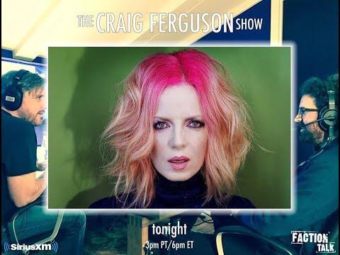 Shirley Manson on the Craig Ferguson Show (10/11/17)- Sirius XM