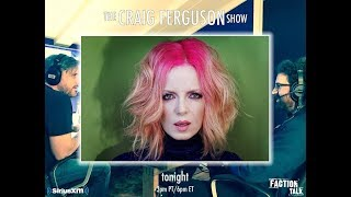 Shirley Manson on the Craig Ferguson Show (10/11/17)- Sirius XM