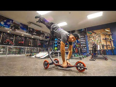 WORLD'S FASTEST SPEED SCOOTER!