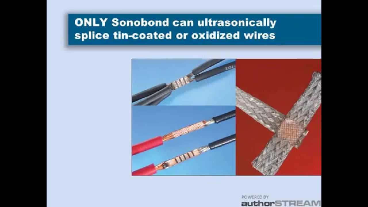 Ultrasonic Wire Splicing - YouTube