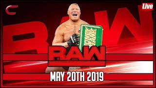 WWE RAW Live Stream Full Show May 20th 2019 Live Reaction Conman167