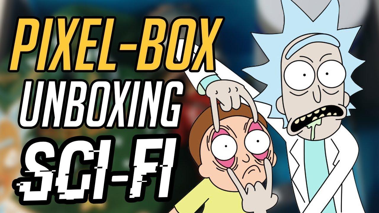 """Najlepsza paczka do tej pory! – Unboxing """"SCI-FI"""" PIXELBOX"""
