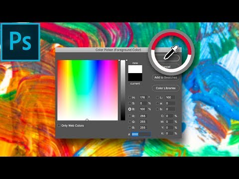 Mastering the Color Picker Tools in Adobe Photoshop CC! (How to / Tutorial) thumbnail