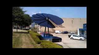 Levering Smartflower (Zonne-energie) aan Van Wees Waalwijk