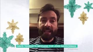David Tennant's Message Of Support For John Barrowman On I'm A Celebrity