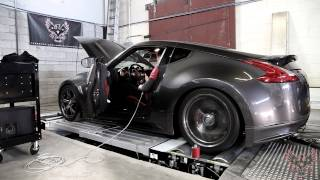 Nissan 370Z - Built VQ Twin Turbo Dyno Pull