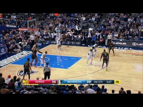 Atlanta Hawks vs Dallas Mavericks | January 7, 2017 | NBA 2016-17 Season
