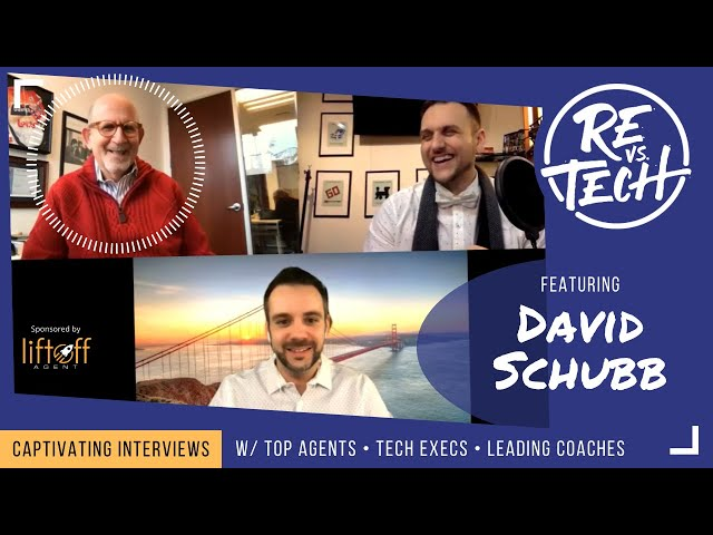 Real Estate Vs Tech with David Schubb!! Episode 008