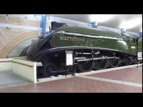 Restored 60008 Dwight D Eisenhower and Command cars at National Railroad Museum Green Bay