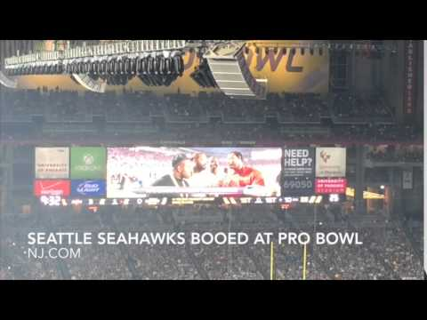 Seattle Seahawks booed at 2015 NFL Pro Bowl