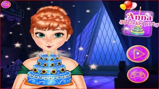 Kids Games Online To Play: Frozen Fever Game - Anna Birthday