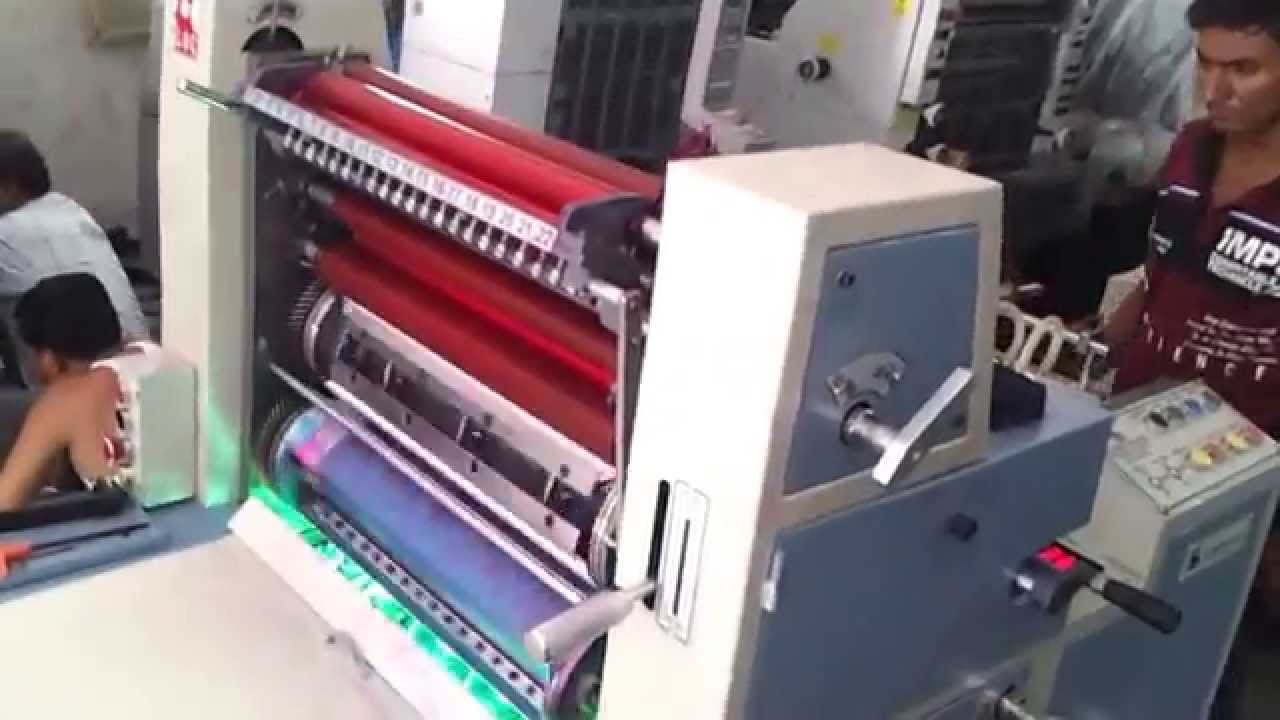 Plastic bag offset printing machine youtube plastic bag offset printing machine reheart Choice Image
