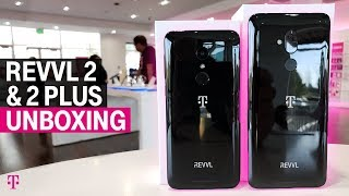 T Mobile Phones - REVVL 2 & REVVL 2 Plus Unboxing with Des | T-Mobile