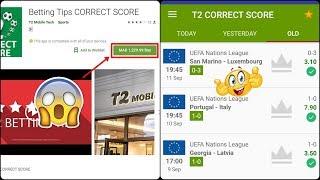 T2 correct score apk download