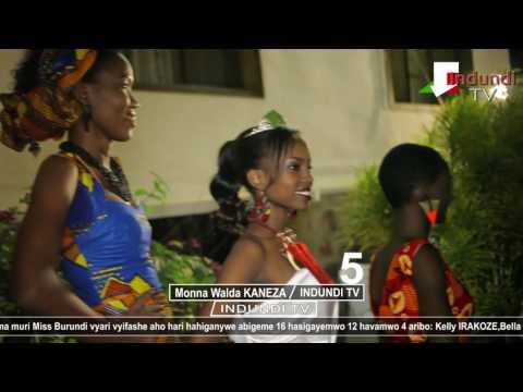 #INDUNDI TV AMAKURU #MISS BURUNDI Demi finale Part 4